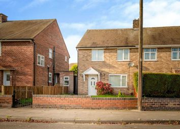 Thumbnail 2 bed semi-detached house for sale in Lime Tree Road, Hucknall, Nottingham