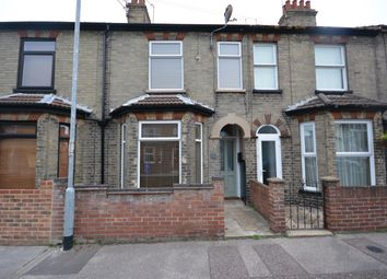 Thumbnail 3 bed terraced house to rent in John Street, Lowestoft