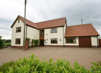 Thumbnail 8 bed detached house for sale in Poplar Road, Attleborough