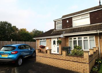 Thumbnail 4 bedroom semi-detached house for sale in Histon Way, Newcastle Upon Tyne, Tyne And Wear
