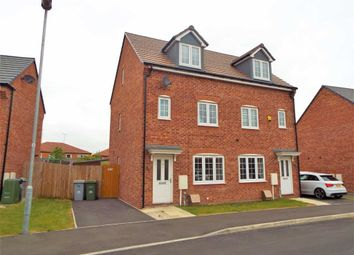 Thumbnail 3 bed semi-detached house for sale in Freya Road, Newark, Nottinghamshire