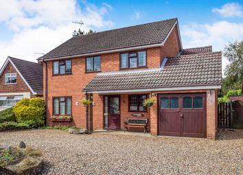 Thumbnail 4 bed detached house for sale in The Street, Felthorpe, Norwich