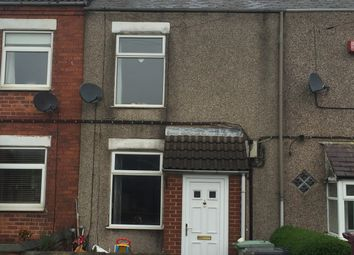Thumbnail 2 bed terraced house to rent in Williamthorpe Road, Chesterfield