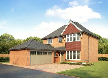 "Thumbnail 4 bed detached house for sale in ""Canterbury"" at Waterlode, Nantwich"