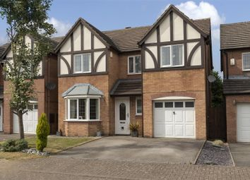 Thumbnail 4 bed detached house for sale in Battalion Court, Keresley, Coventry