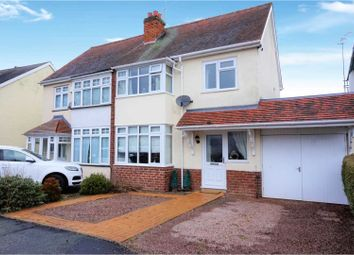 Thumbnail 3 bed semi-detached house for sale in Rowan Crescent, Wolverhampton