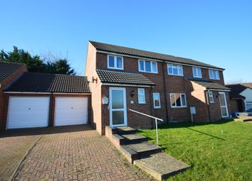 Thumbnail 3 bed semi-detached house for sale in Glemsford, Sudbury, Suffolk