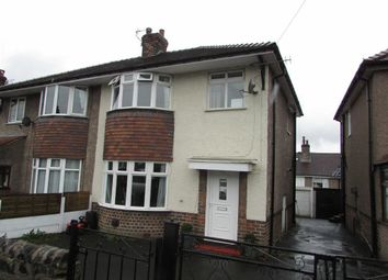 Thumbnail 3 bed semi-detached house to rent in Milnbank Ave, Buxton, Derbyshire
