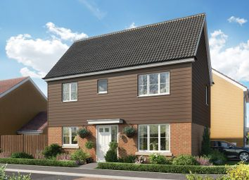 Thumbnail 3 bed detached house for sale in Portland Way, Off Bramford Road, Great Blakenham, Suffolk