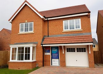 Thumbnail 4 bedroom detached house for sale in Brookfield Avenue, Acklam Woods, Middlesbrough