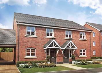 "Thumbnail 3 bed semi-detached house for sale in ""The Juniper "" at Broad Street Green Road, Heybridge, Maldon"