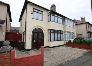 Thumbnail 3 bed semi-detached house for sale in Seafield Avenue, Crosby, Liverpool
