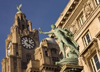 Thumbnail 2 bed flat for sale in Liverpool City Apartments, Old Hall Street, Liverpool