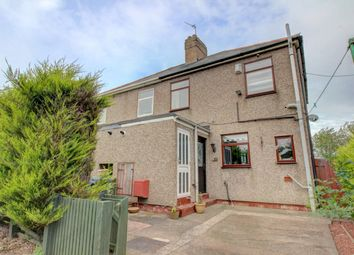 Thumbnail 3 bedroom semi-detached house for sale in Edward Street, Pegswood, Morpeth