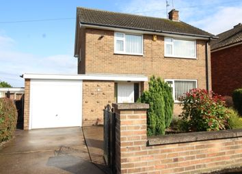 Thumbnail 3 bed detached house for sale in Dunstan Crescent, Worksop