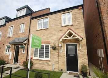 Thumbnail 3 bed end terrace house for sale in Countess Way, Shiremoor, Newcastle Upon Tyne