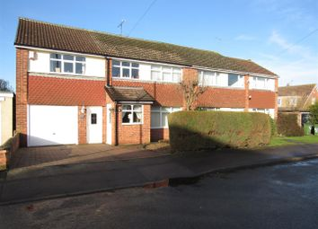 Thumbnail 5 bed semi-detached house for sale in Ridley Close, Blaby, Leicester
