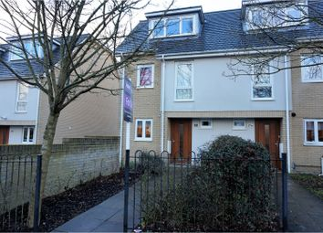 Thumbnail 4 bedroom town house for sale in Shamblehurst Lane South, Hedge End
