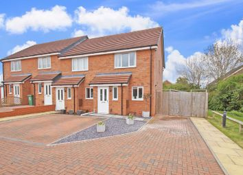 Thumbnail 2 bedroom terraced house for sale in Almondsbury Close, Redditch