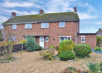 Thumbnail 3 bed semi-detached house for sale in Britton Close, Watlington, King's Lynn