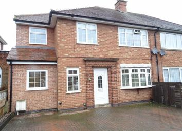 Thumbnail 5 bed semi-detached house for sale in Cowper Road, Burbage, Hinckley