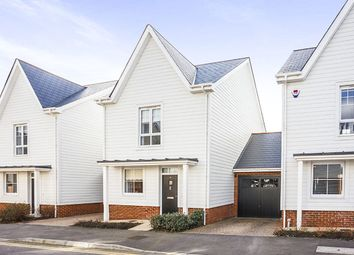 Thumbnail 3 bed detached house for sale in Berry Drive, Holborough Lakes, Snodland