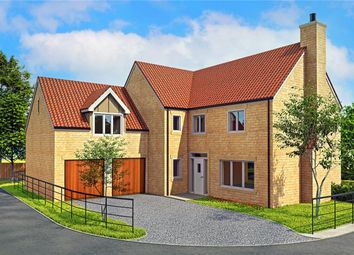 Thumbnail 4 bed detached house for sale in Crow Lane, Leadenham, Lincoln, Lincolnshire
