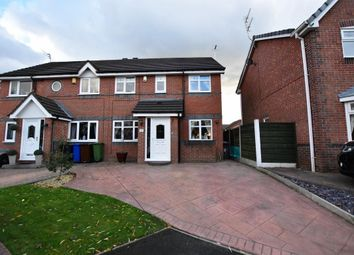 Thumbnail 3 bed semi-detached house for sale in Petrel Close, Tyldesley, Manchester