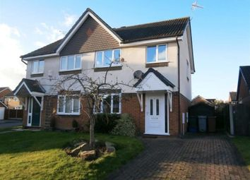 Thumbnail 3 bed semi-detached house to rent in Woodstock Drive, Middlewich