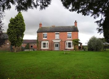 Thumbnail 3 bed detached house to rent in Pinsley Green, Wrenbury, Nantwich