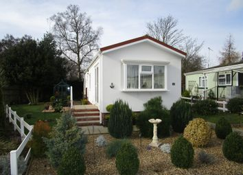 Thumbnail 1 bedroom mobile/park home for sale in Station Road, Snettisham, King's Lynn