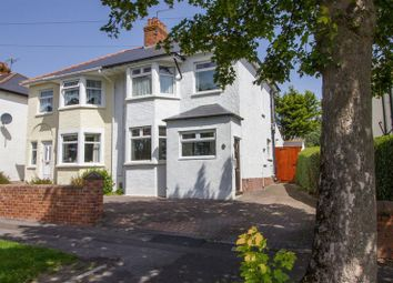 Thumbnail 3 bed semi-detached house for sale in Mountjoy Avenue, Penarth