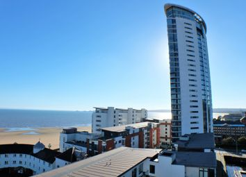 1 bed flat to rent in Meridian Tower, Marina, Swansea SA1