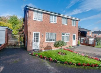 Thumbnail 2 bedroom semi-detached house for sale in Stoneleigh Close, Oakenshaw South, Redditch
