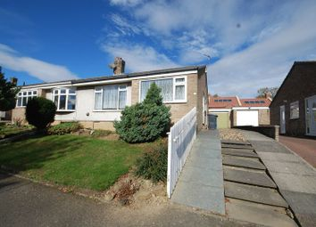 Thumbnail 2 bed semi-detached bungalow for sale in Moor View Close, Pegswood, Morpeth