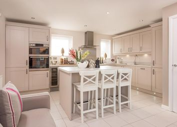 "Thumbnail 4 bed detached house for sale in ""Alderney"" at Glebe Road, Loughor, Swansea"