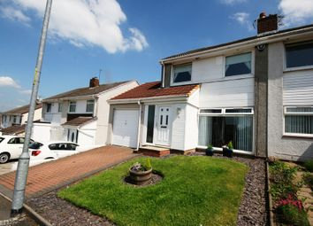 Thumbnail 2 bed semi-detached house for sale in Glenartney Road, Chryston, Glasgow