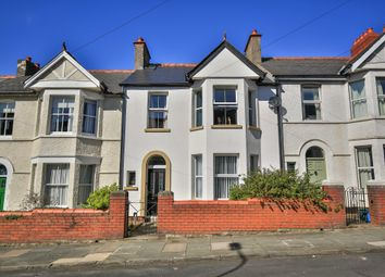 Thumbnail 4 bed terraced house for sale in Cornerswell Road, Penarth