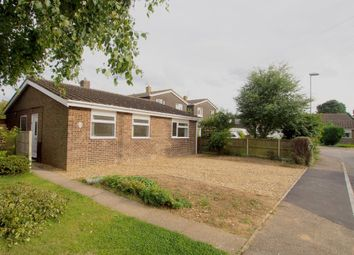 Thumbnail 3 bed detached bungalow for sale in Ashleigh Gardens, Wymondham