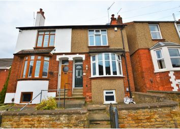 Thumbnail 3 bed semi-detached house for sale in Manor Road, Northampton