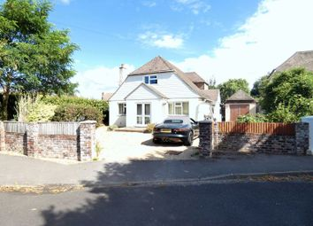 Thumbnail 4 bed detached bungalow for sale in Little Gays, Hill Head, Fareham