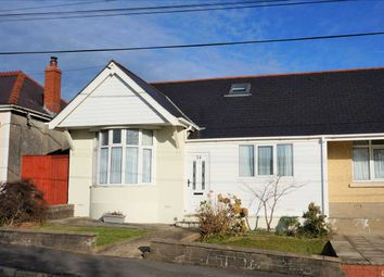 Thumbnail 4 bed semi-detached bungalow for sale in Singleton Road, Tumble, Llanelli