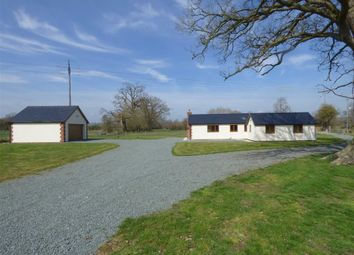 Thumbnail 4 bed detached bungalow for sale in Llandrinio, Llandrinio, Llanymynech
