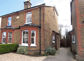 Thumbnail 4 bed semi-detached house to rent in Miles Road, Epsom