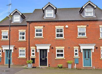 Thumbnail 3 bed town house for sale in Monarch Drive, Kemsley, Sittingbourne, Kent