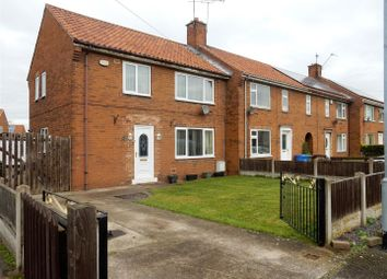 Thumbnail 3 bed semi-detached house for sale in Knaton Road, Carlton-In-Lindrick, Worksop