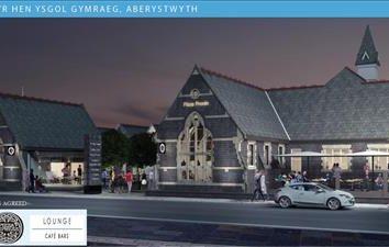 Thumbnail Retail premises to let in Unit 6, Yr Hen Ysgol Gymraeg, Alexandra Road, Aberystwyth