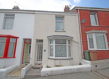Thumbnail 2 bed terraced house for sale in Hamoaze Avenue, Weston Mill, Plymouth