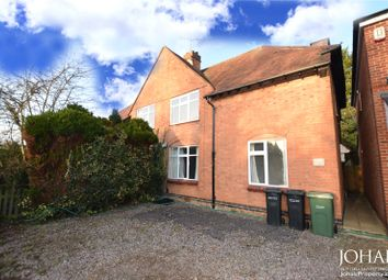 Thumbnail 3 bed semi-detached house to rent in London Road, Oadby, Leicester, Leicestershire