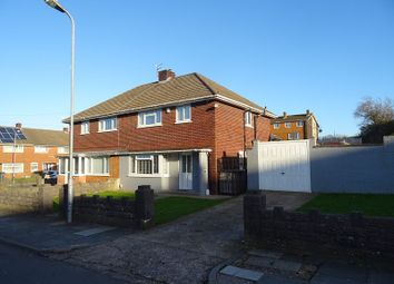 Thumbnail 3 bed semi-detached house for sale in Porthcawl Road, Caerau, Cardiff.